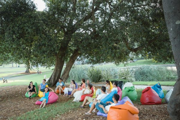 Outdoor Bean Bag Hire for event