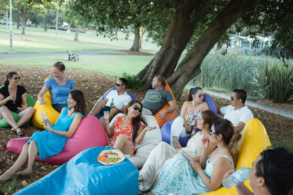 Hire Bean Bags For Outdoor Events
