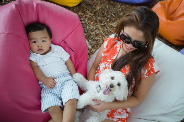 Outdoor Bean Bag Hire for family event