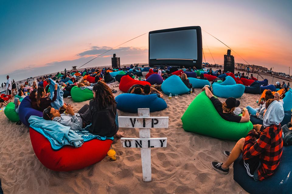 Hire bean bags for your next Movie Night