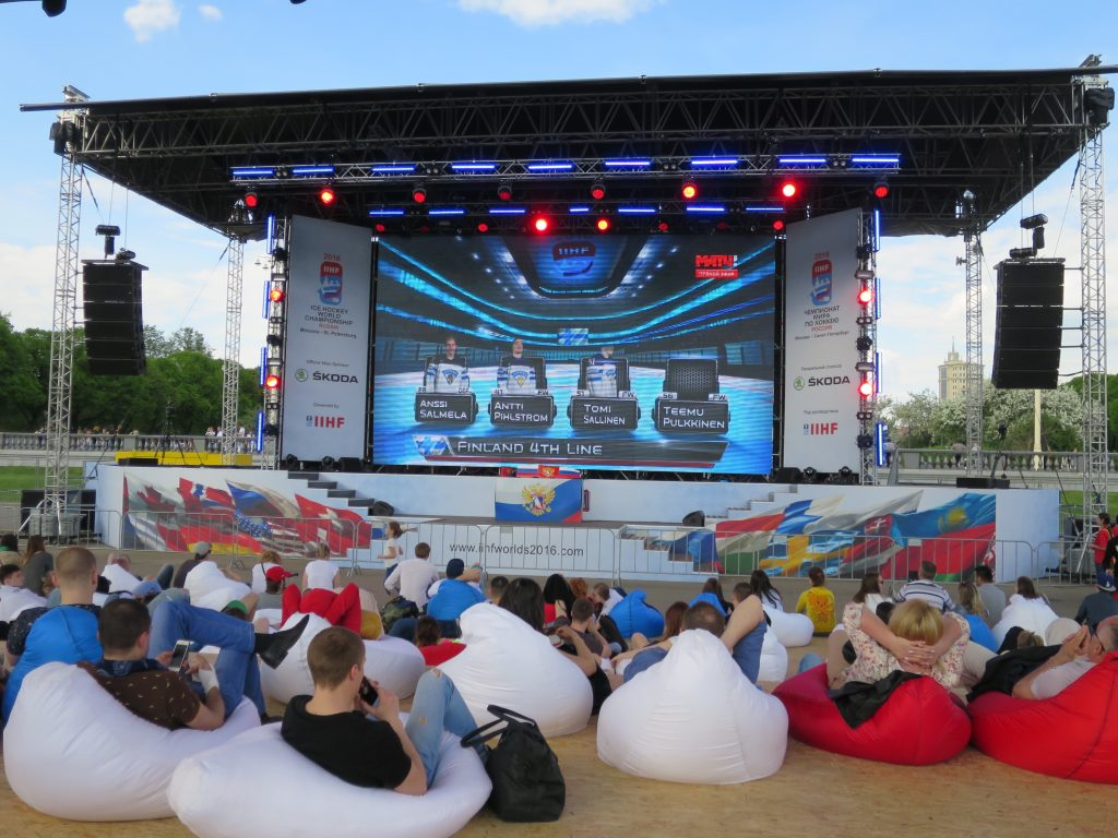 Hire bean bags for your next sporting event