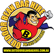 Outdoor Bean Bag Hire