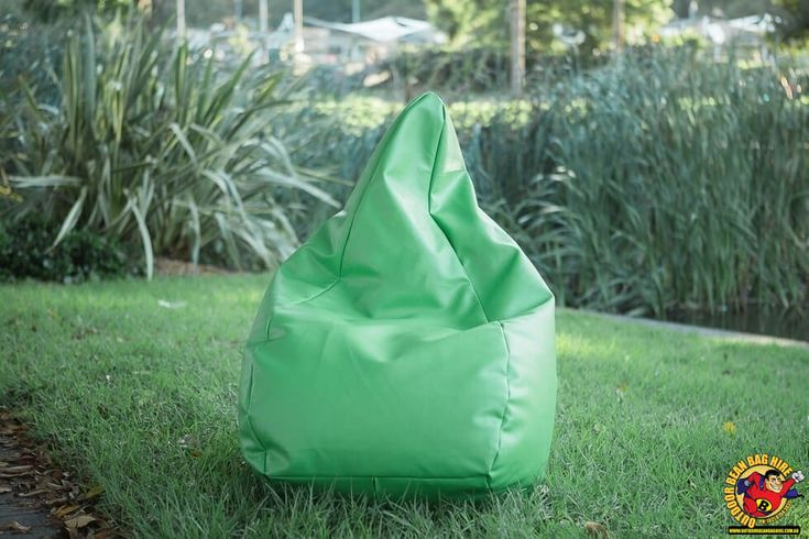 Bean Bag Hire Sydney - Green Bean Bag