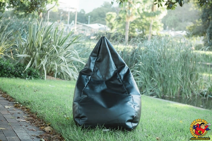 Bean Bag Hire Sydney - Black Bean Bag
